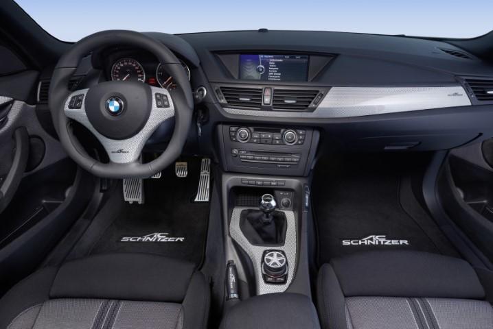 E84_X1_carbon_interior_steering_wheel_pedals_gear_knob_handbrake_handle_iDrive Cover_floor_mats